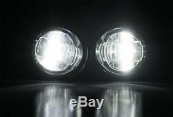 15W CREE LED Projector Fog Lights withBezel Covers, Wiring For 14-up Nissan Rogue
