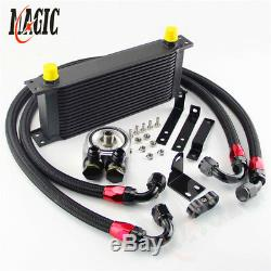 16 Row Bolt On Oil Cooler Kit for Honda S2000 AP1 AP2 00-04 F20C 2.0L 05-09 F22C