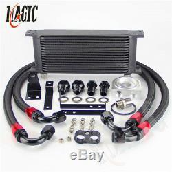 16 Row Bolt On Oil Cooler Kit for Honda S2000 AP1 AP2 00-04 F20C 2.0L 05-09 F22C
