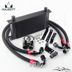 19 Row Bolt On Oil Cooler Kit for Honda S2000 AP1 AP2 00-04 F20C 2.0L 05-09 F22C