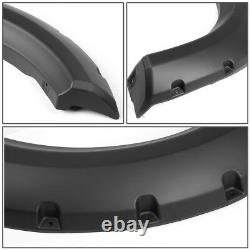 1.75 Smooth Wheel Fender Flares Kit Bolt-on Tire Cover For 09-14 F150 Pickup