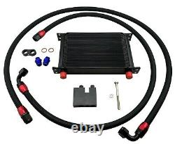 25 Row 10AN Bolt On Oil Cooler Upgrade Kit for BMW E Series 335i 135i N54 Turbo