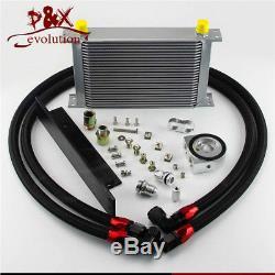 25 Row AN10 Oil Cooler Bolt on kit for Nissan 03-08 350z Fairlady 09-14 370z SL