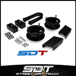 3 + 1.5 Leveling Lift Kit For 03-13 Ram 2500 3500 Sway Bar Relocate Brackets