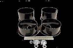 3/8 Front Rear Bag Bracket Mount Kit Air Ride Suspension For 71-96 Chevy B-Body