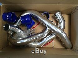 999- Full Aluminium Piping Kit Bolt-on For Skyline R33 Gtst Rb25det Turbo