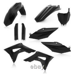 Acerbis Black Full Complete Plastic Kit For Honda CRF 450 R 2017 2630700001