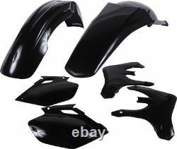 Acerbis Black Plastic Body Kit for Yamaha YZ 250 F YZ 450 03-05