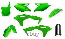 Acerbis Flo Green Full Complete Plastic Kit For Kawasaki KX 250F 2017 2630630235