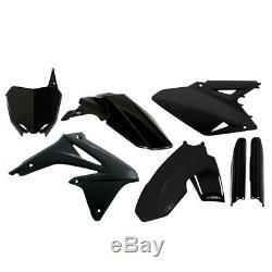 Acerbis Full Plastic Kit Black For Suzuki RMZ 450 08-16 2198040001