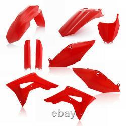 Acerbis Red Full Complete Plastic Kit For Honda CRF 450 R 2017 2630700227
