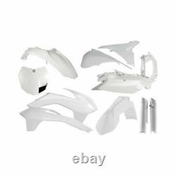 Acerbis White Full Plastic Complete Kit For KTM 125-450 SX XC F 13-15 2314330002