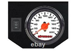 Air Helper Kit Wht Gauge On Board Control For 18-19 Chevy 3500 2500 8 Lug Truck