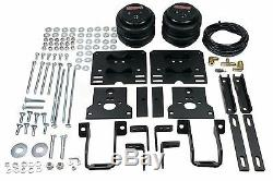 Air Helper Spring Kit In Cab Blk Gauge For 2005-10 Ford F250 4x4 Over Load Level