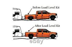 Air Load Level Rear Bolt On Board Kit For 2011-2017 Chevy 3500 2500 8 Lug Truck