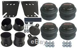 Air Ride Kit For 58-64 Chevy Impala Valves 7 Switch 580 Chr Air Compressors Tank
