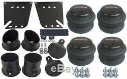 Air Ride Suspension Kit For 58-64 Impala Valves 7 Switch 580 Chr Compressor Tank