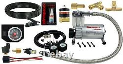 Air Tow Assist Kit withIn Cab Air Management For 2003-13 Dodge Ram 2500 3500 8 Lug