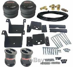 Air Tow Kit Black In Cab Control For 6 Lifted 2011-17 Chevy Silverado 2500 3500