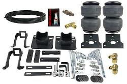 Air helper springs kit with 4 ply bags no drill for 2005-10 ford f250 f350 2wd