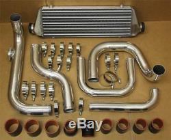 Aluminum Turbo Intercooler Bolt On Piping Kit For Acura Integr 1994-2001 B16 B18