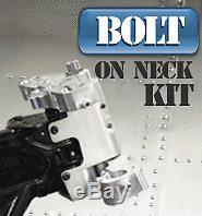 American Suspension Black Bolt On Neck 26 Wheel Kit for Harley Touring 00-08