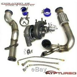Atp Stealth Bolt-on Gt3071r Turbo Kit For 03-07 Mitsubishi Evo Vii/viii/ix