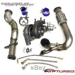 Atp Stealth Bolt-on Gt3582r Turbo Kit For 03-07 Mitsubishi Evo Vii/viii/ix
