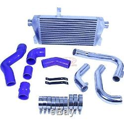 BOLT ON FRONT MOUNT TURBO INTERCOOLER PIPE KIT FOR Audi A4 02-05 Intercooler