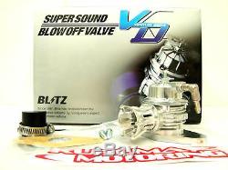 Blitz VD Bolt-on Blow Off Valve Bov Kit For 08-11 Wrx Gh8 Sh5 Bp5 Bl5