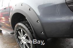 Bolt On Look Fender Flares Set Wheel Arch Kit For Ford Ranger T6 2012-2018 D-cab