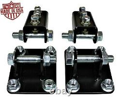 Bolt On Traction Bar Mounts for 2011-2020 Ford F250 F350 6.7l Powerstroke