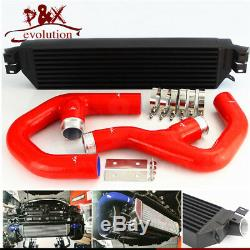 Bolt On Turbo Intercooler with Pipe Kit For VW Jetta Gti Golf A3 Mk5 2.0T 06-10