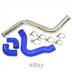 Bolt-on 2.50 Aluminum Intercooler Piping Kit For 13-16 Ford Focus St Blue