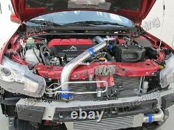 Bolt on Intercooler Piping Kit + BOV For 07 + Mitsubishi Lancer Evolution EVO X