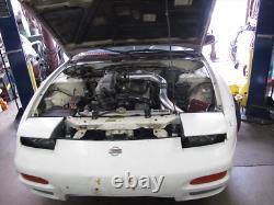 Bolt-on TB Throttle Body Intake Pipe Kit For S13 S14 RB20/25 RB20DET 240SX Black