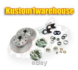 Bolt on link pin front disc brake conversion kit 5 lug Chevy for VW Volkswagen