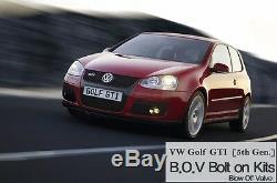 CABERU Blow Off Valve B. O. V. Bolt-On Kit for Volkswagen Golf GTI 5th Gen