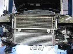 CXRACING FMIC Intercooler Kit For 02-05 Audi A4 B6 1.8T Turbo Bolt On
