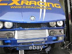 CXRacing Bolt-on Front Mount Intercooler + Piping Kit For 84-91 BMW 3-Series E30