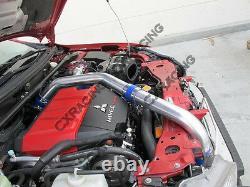 CXRacing Bolt on Intercooler Kit For 07+ Mitsubishi Lancer Evolution EVO X + BOV