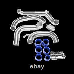 CXRacing Bolt-on Intercooler Piping Kit BOV For 89-99 Nissan S13 SR20DET Swap