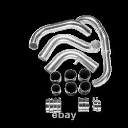 CXRacing Bolt-on Intercooler piping kit G Intake for 240SX S13 SR20DET Black