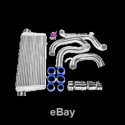 CXRacing FMIC Bolt-on Intercooler Kit + BOV For 89-99 240SX S13 SR20DET