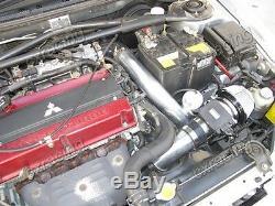 CXRacing FMIC Intercooler Kit + BOV + Turbo Intake Bolt On For 05-07 Lancer EVO