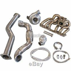 CXRacing GT35 T4 Turbo Kit Manifold For 98-05 Lexus IS300 2JZ-GE NA-T Bolt On