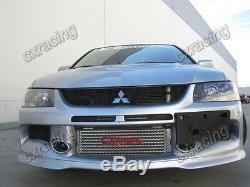 CXRacing Intercooler Kit + BOV + Turbo Intake For 05-07 Lancer EVO 9 IX Bolt on