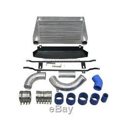 CX Bolt-on FMIC Intercooler Piping KIT Shroud For 07-10 BMW E90 E92 TURBO 335i