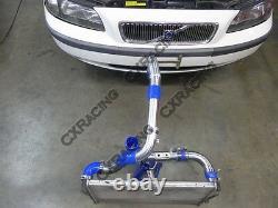 CX Bolt on FM Intercooler Piping Kit For 00-07 Volvo P2 V70 XC70 2.4T S60 Black