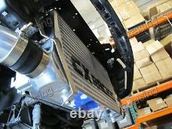 CX Bolt-on FM Intercooler Piping Kit For 92-98 BMW E36 325i 328i T3 Turbo Black